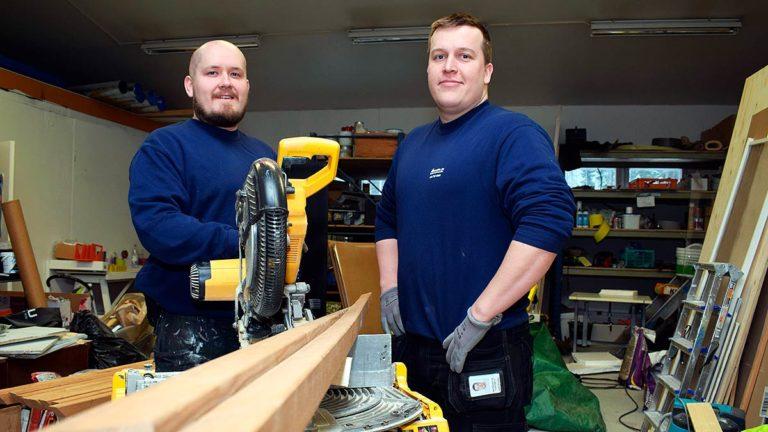 Rakennusyrittäjä keskittyy rakentamiseen - Euroaccount hoitaa talouden